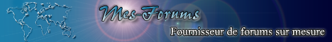 Service de forums sur mesure